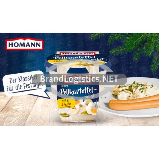 Homann Feiner Pellkartoffelsalat 400g Waagengrafik 800×474