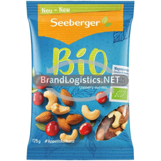 Seeberger Bio Cranberry-Nuss-Mix 125g