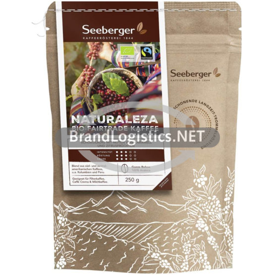 Seeberger Naturaleza Bio-Fairtrade Kaffee 250 g