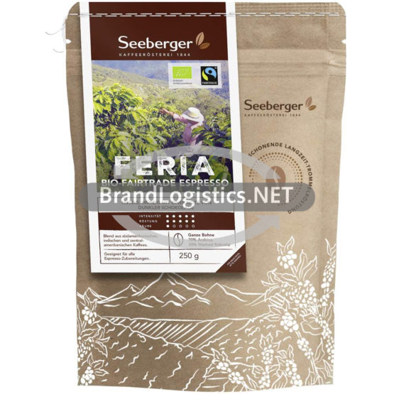 Seeberger Bio-Fairtrade Espresso Feria 250 g