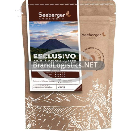 Seeberger ESCLUSIVO SINGLE ORIGIN KAFFEE 250 g