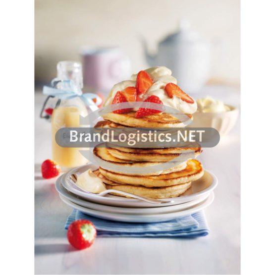 Pancakes mit Eierlikörsahne