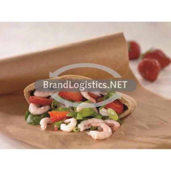 Pita mit Shrimps und Erdbeeren