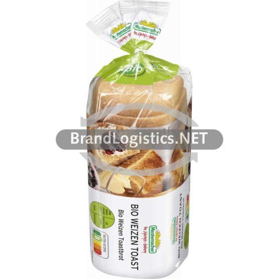 Mestemacher Bio Weizen Toast 400 g
