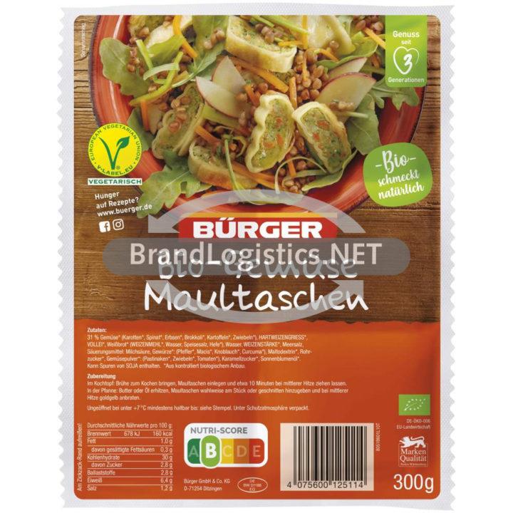 Bürger Bio-Gemüsemaultaschen 360 g