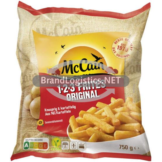 McCain 1-2-3 Frites Original 750 g