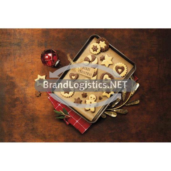 Weihnachtliche Cookies mit Mestemacher westfälischem Pumpernickel