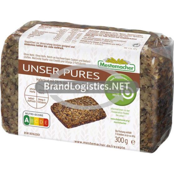 Mestemacher Unser Pures 300 g