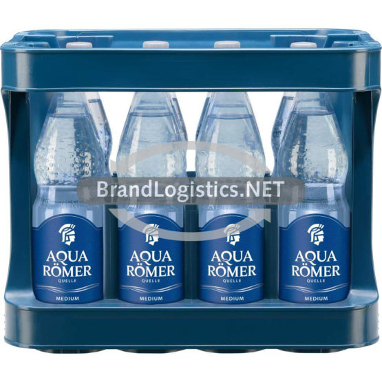 AQUA RÖMER Mineralwasser Medium PET MW 12×1,0 l