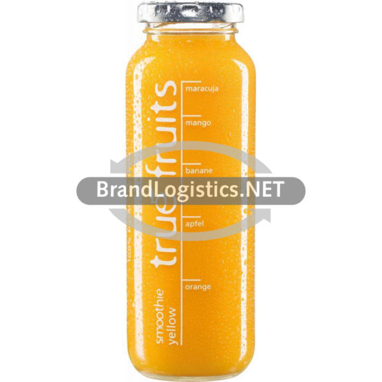true fruits smoothie yellow mit Mango+ Maracuja 250 ml