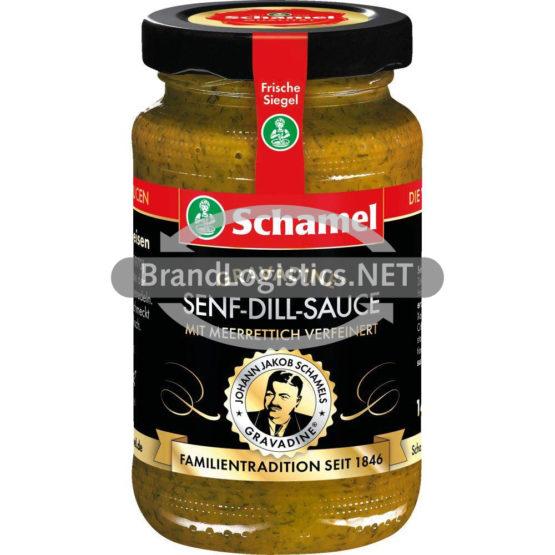 Schamel Gravadine Senf-Dill-Sauce 140ml