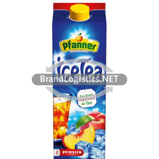 Pfanner IceTea Pfirsich 2,0 l