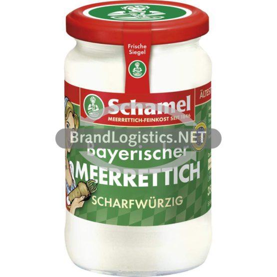 Schamel Meerrettich Scharfwürzig 350g