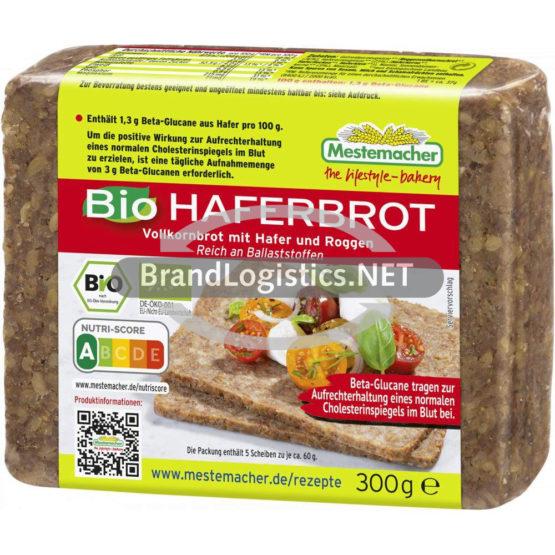 Mestemacher Bio Haferbrot 300g