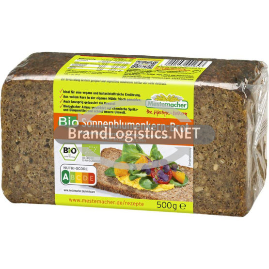 Mestemacher Bio Sonnenblumenbrot 500 g