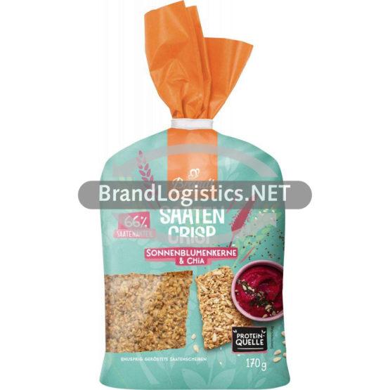 Brandt Saaten Crisp Sonnenblumenkerne & Chia 170 g