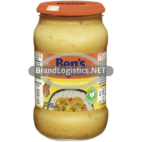 Uncle Ben's Saucen Cremiges Curry 400 g