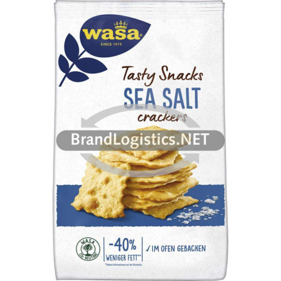 Wasa Delicate Crackers Sea Salt 180 g