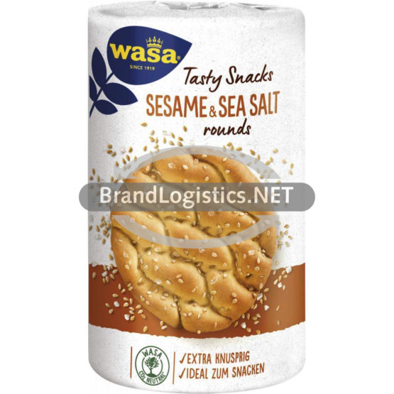 Wasa Delicate Rounds Sesame & Sea Salt 235 g