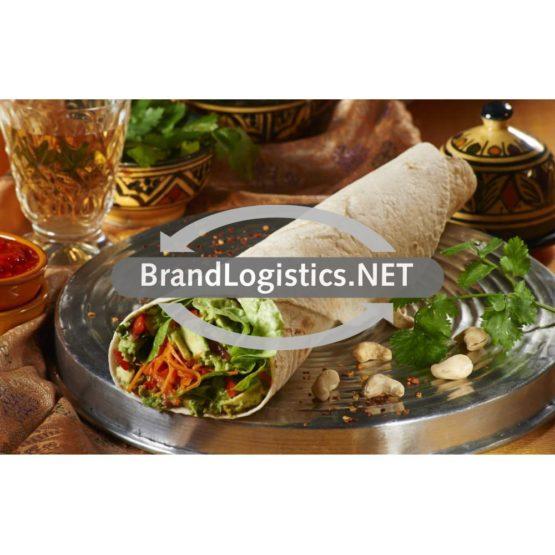 Wrap mit scharfen Karottensalat und Guacamole