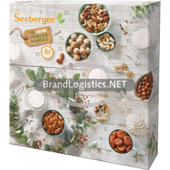 Seeberger Adventskalender 2021 Vegan 510 g