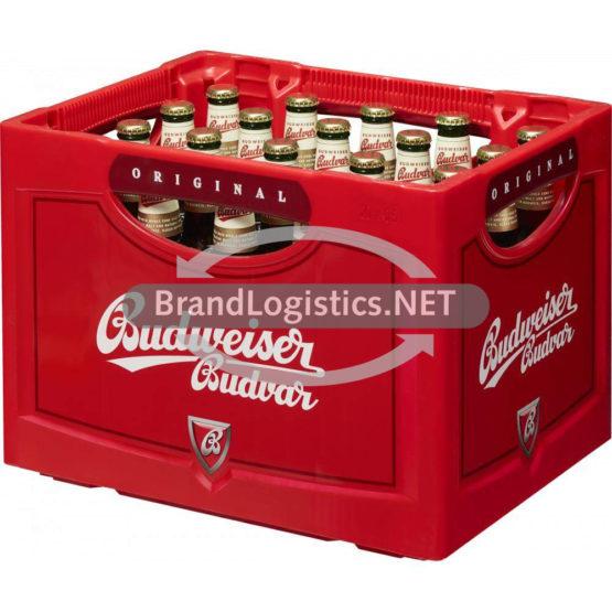 Budweiser Budvar Premium Lager 5% vol. 20×0,5 l