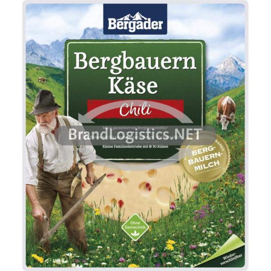 Bergader Bergbauern Käse Scheiben Chili 150 g