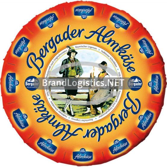 "Bergader Almkäse ""herzhaft"" 50% Torten ca. 2,0 kg"
