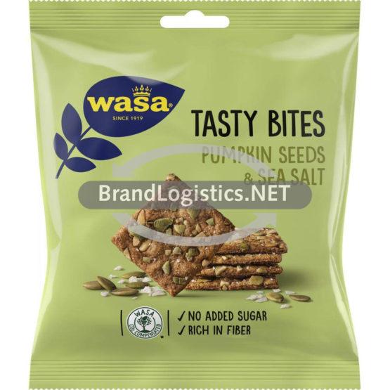 Barilla Wasa Tasty Bites Pumpkin Seeds & Sea Salt 50 g