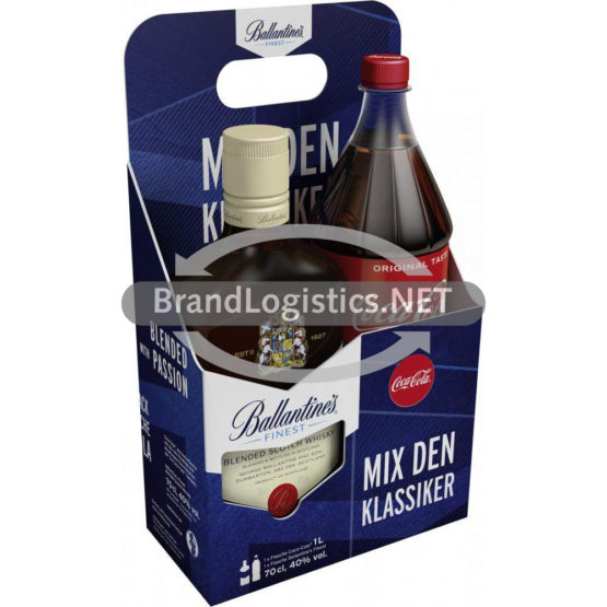 Ballantine's Finest 40% vol. 0,7 l + Cola 1 l