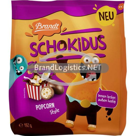 Brandt Schokidus Popcorn 192 g