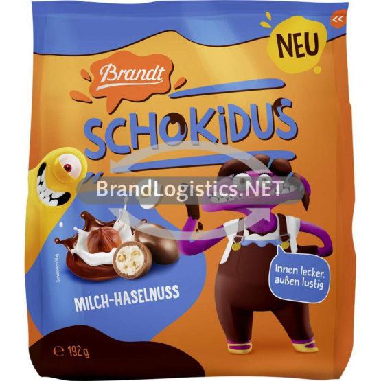 Brandt Schokidus Milch-Haselnuss 192 g