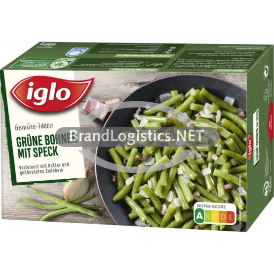 Iglo Gemüse Ideen Grüne Bohnen mit Speck 480 g
