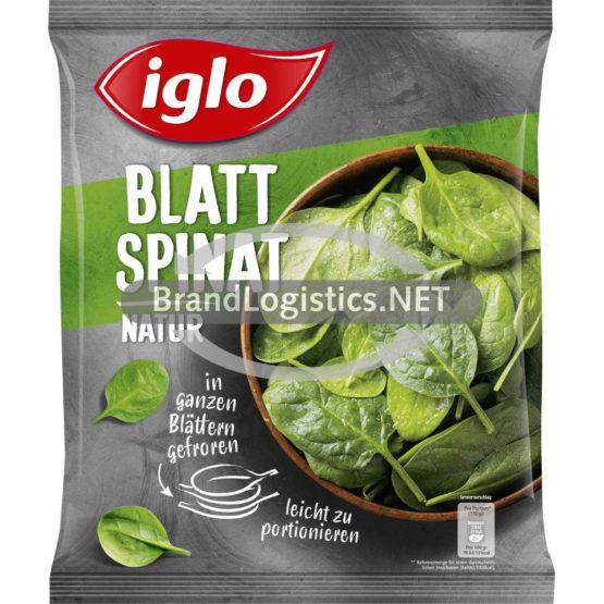 Iglo Feld Frisch Blattspinat 800 g