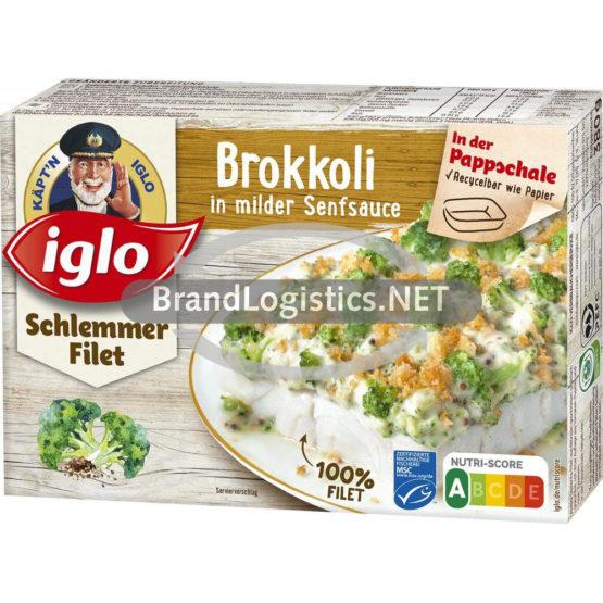 MSC Iglo Schlemmer-Filet Brokkoli in milder Senfsauce 380 g