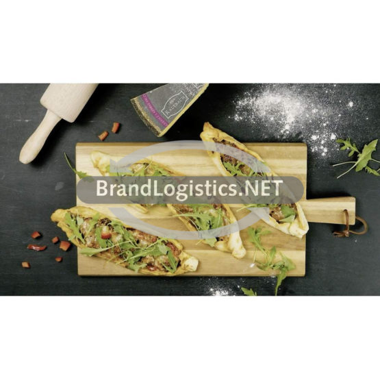 Käse-Hack-Pide mit Rucola
