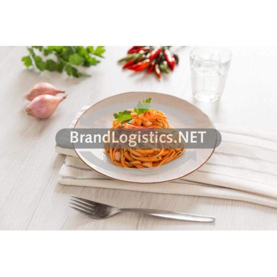Linguine mit Shrimps und Petersilie