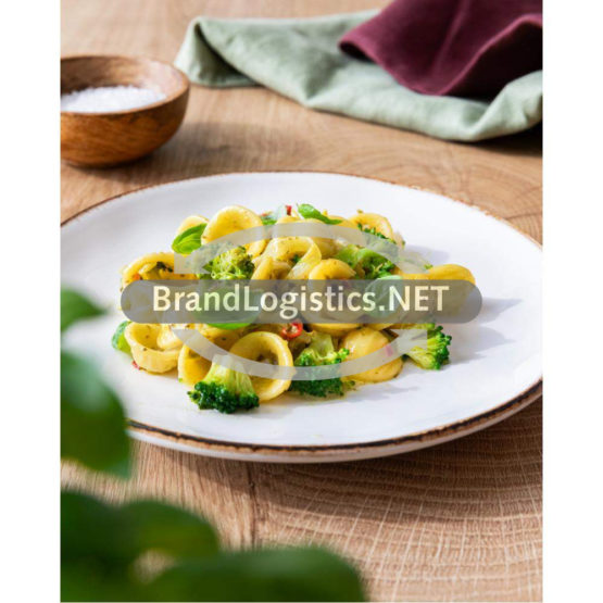 Barilla Collezione Orecchiette mit Pesto Basilico e Peperoncino, Brokkoli und Endivie