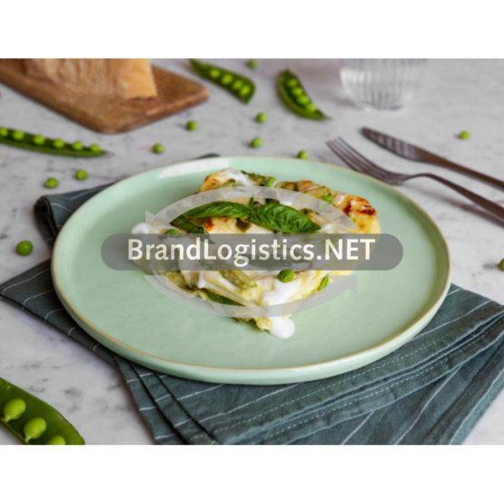Barilla Collezione Lasagne mit Pesto Genovese, Spargel und Erbsen