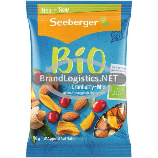 Seeberger Bio Mandel-Mango-Cranberry-Mix 110 g