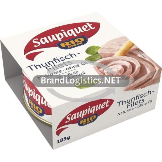 Saupiquet Rio Mare Thunfisch-Filets Naturale ohne Öl 185 g