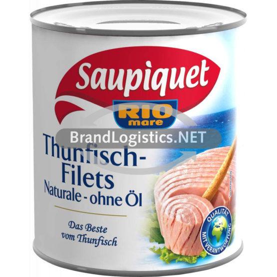 Saupiquet Rio Mare Thunfisch-Filets Naturale ohne Öl 800 g