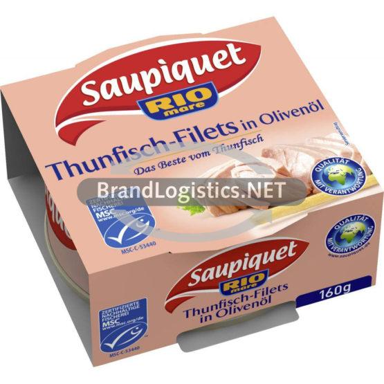 Saupiquet Rio Mare Thunfisch-Filets in Olivenöl MSC 160 g