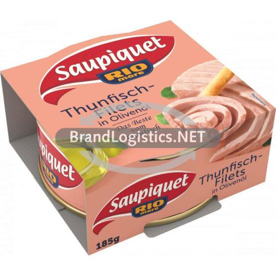 Saupiquet Rio Mare Thunfisch-Filets in Olivenöl 185 g
