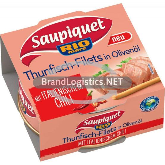 Saupiquet Rio Mare Thunfisch-Filets in Olivenöl mit italienischem Chili 130 g