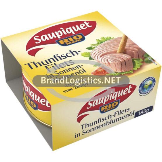 Saupiquet Rio Mare Thunfisch-Filets in Sonnenblumenöl 185 g