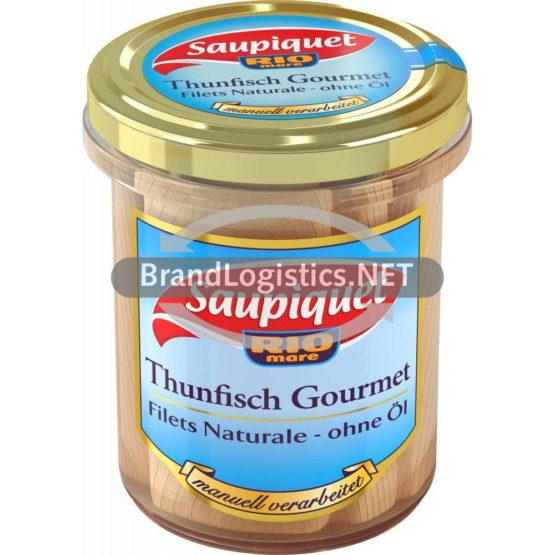 Saupiquet Rio Mare Gourmet Thunfisch-Filets Naturale ohne Öl 180 g