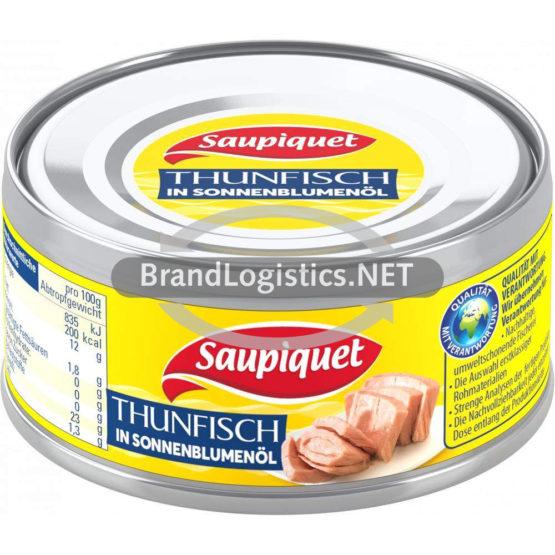Saupiquet Thunfisch in Sonnenblumenöl 185 g