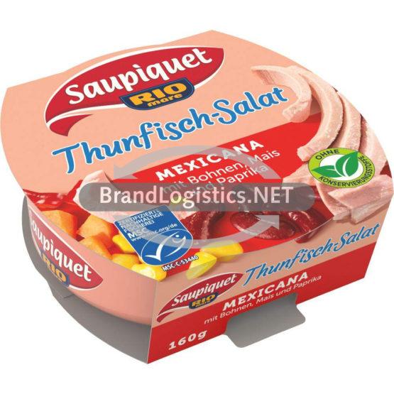 Saupiquet Rio Mare Thunfisch-Salat Mexicana MSC 160 g