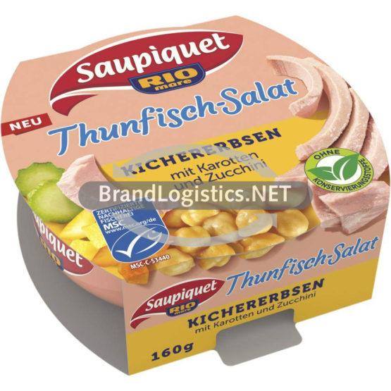 Saupiquet Rio Mare Thunfisch-Salat Kichererbsen MSC 160 g